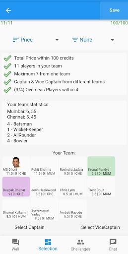 Fantasy Cricket 5.0.27 screenshots 1