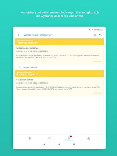 Meteo IMGW Prognoza dla Polski  Screenshots 20
