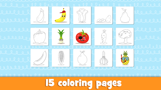 Learn fruits and vegetables - games for kids 1.5.4 screenshots 5