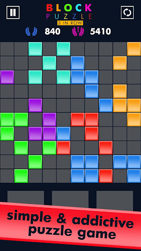 Block Puzzle Match 3 Game apktram screenshots 9