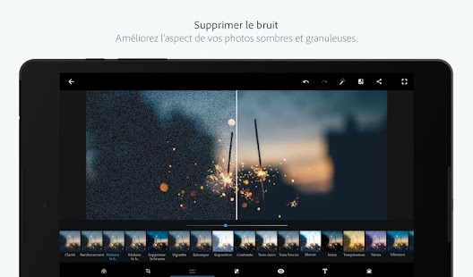 Adobe Photoshop Express : édition photo et collage Capture d'écran