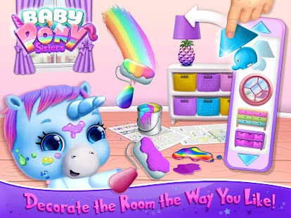 Baby Pony Sisters - Virtual Pet Care & Horse Nanny Screenshot