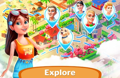 Resort Hotel: Bay Story Mod Apk (Unlimited Gold Coins) 4