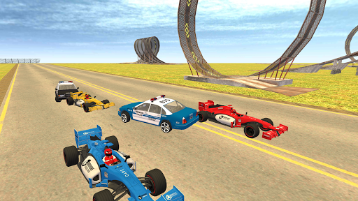 Formula Car Racing u2013 Police Chase Game 1.20 screenshots 1