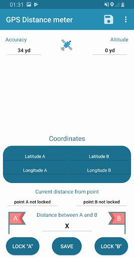 gps distance meter pro screenshot 1