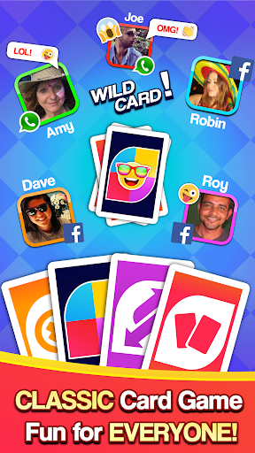 Card Party! Uno Online Games with Friends Family  screenshots 1