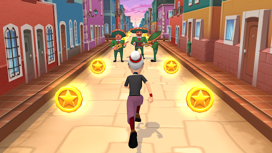 Angry Gran Run MOD Apk 2.17.1 (Unlimited Keys/Diamonds) 1