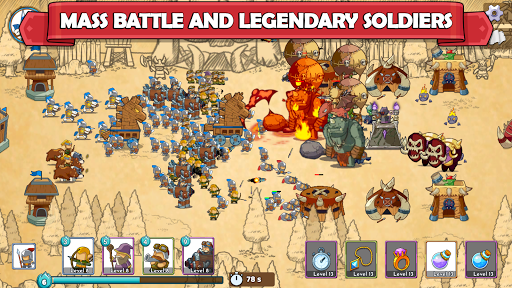 Clash of Legions - Kingdom Rise - Strategy TD 1.06 screenshots 1