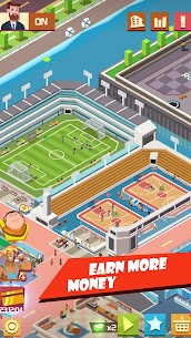 Sim Sports City Mod Apk- Idle Simulator Games (Unlimited Money) 3