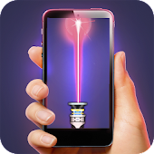icono Simulador de láser 3D Broma