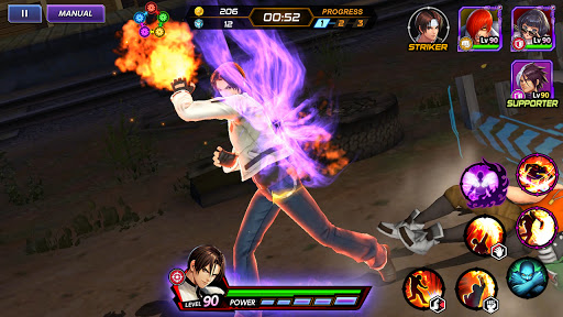 The King of Fighters ALLSTAR Apkfinish screenshots 4