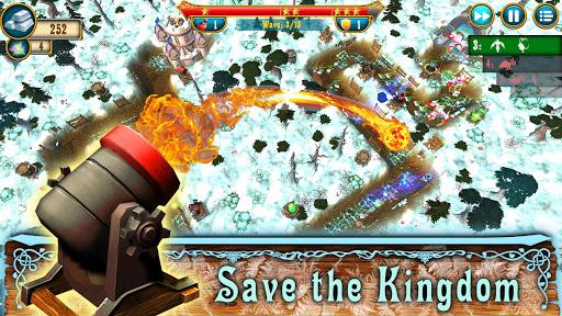 Fantasy Realm TD. Offline Tower Defense Game  screenshots 4