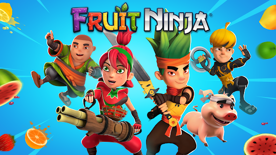 Download Fruit Ninja Mod Apk [Unlimited Money/Free Shopping] 5