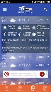 TV6 & FOX UP Weather 5.3.700 APK screenshots 5
