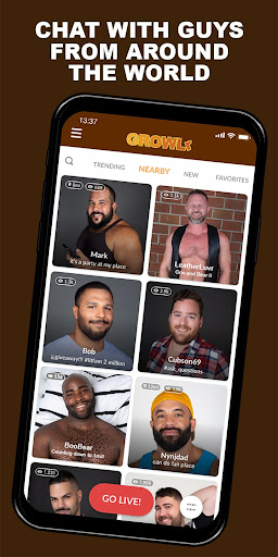 GROWLr: Gay Bears Near You 15.0 Screenshots 1