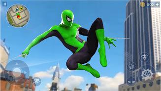 Spider Rope Hero: Ninja Gangster Crime Vegas City