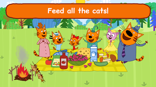 Kid-E-Cats: Picnic with Three Cats・Kitty Cat Games 6
