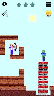 Mr Noob vs 1000 zombies - Lucky Block story 2.5.2 screenshots 1