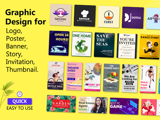Brand Maker - Logo Maker, Graphic Design App 12.0 Screenshots 7