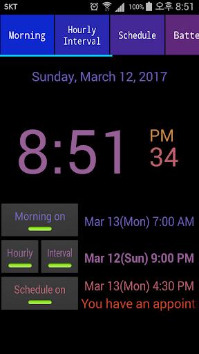 Speaking Alarm Clock apktram screenshots 2