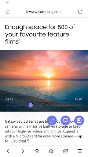 Samsung Internet Browser Beta  screenshots 4