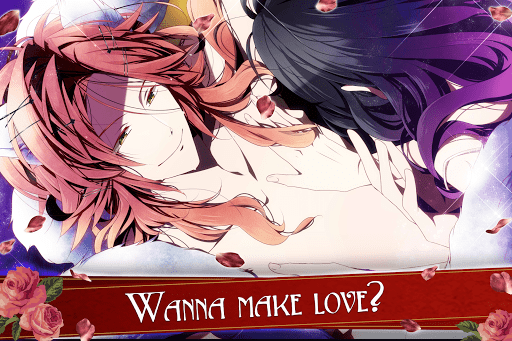 Blood in Roses - otome game / dating sim #shall we  screenshots 14