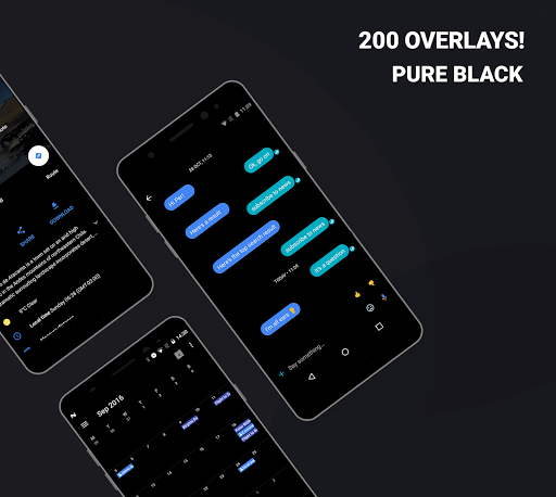 Download APK: Swift Black Substratum Theme +Oreo & Samsung theme v305 [Patched]