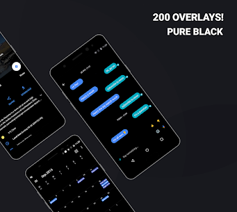 Swift Black Substratum Theme Pro Apk +Oreo & Samsung theme (Patched) 1