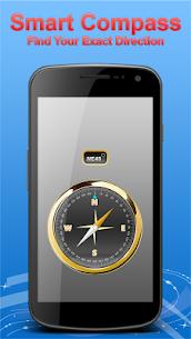 Smart Compass Sensor for Android Digital Compass 44.0 Mod + Apk (New Version) 2