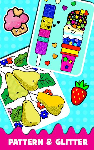 Fruits Coloring book & Food Drawing book Kids Free modavailable screenshots 13