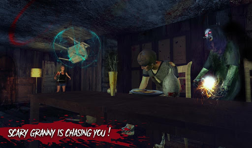 Haunted House Escape - Granny Ghost Games  screenshots 13