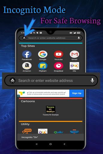 Web Browser Beta Pro-Fastest Browser  Screenshots 2