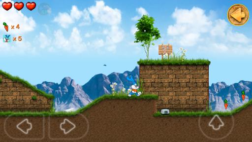 Beeny Rabbit Adventure Platformer World 2.9.9 screenshots 1