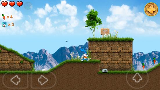 Beeny Rabbit Adventure Platformer World 3.0.6 screenshots 1