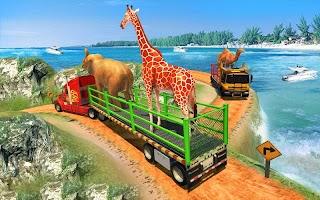 Wild Animal Transporter Truck: Rescue Operation