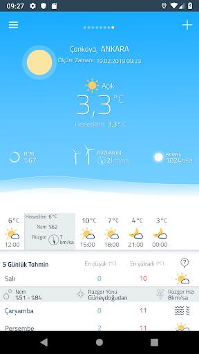 Meteoroloji Hava Durumu  Screenshots 2