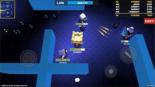 block throw io - battle royale game screenshot 1