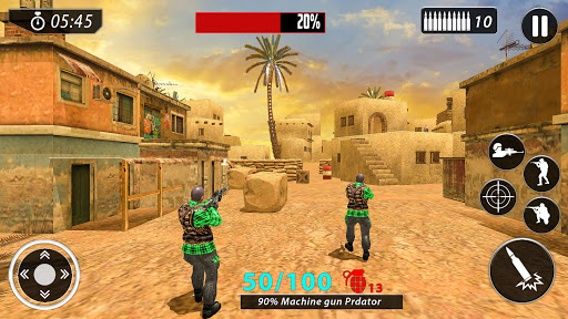 New Free Fire Game 2021:FPS Shooting New Game 2021 1.2.8 screenshots 4