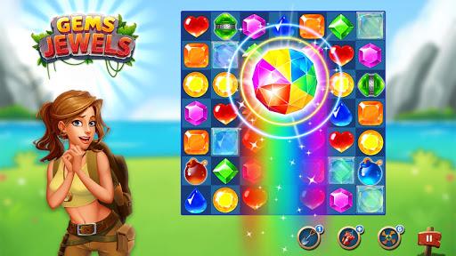 Jewel & Gem Blast - Match 3 Puzzle Game  screenshots 7