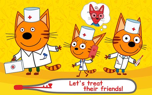 Kid-E-Cats Animal Doctor Games for Kidsu30fbPet Doctor  screenshots 7