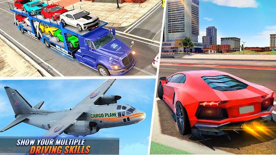 Airplane Pilot Car Transporter: Airplane Simulator screenshots 17