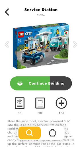 LEGOu00ae Building Instructions 2.1.0 screenshots 5