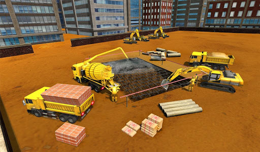 Supermarket Construction Games:Crane operator 1.6.0 screenshots 16
