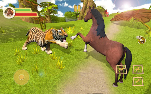 Ultimate Horse Simulator - Wild Horse Riding Game apkpoly screenshots 3