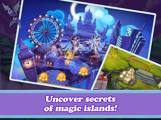 Offline Mahjong: Magic Islands No WiFi 91 screenshots 13