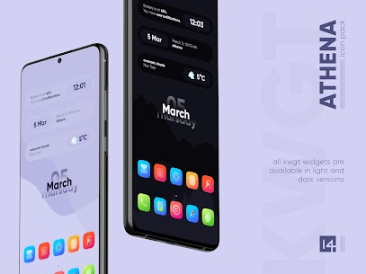 Athena Icon Pack APK- Squircle Icons [PAID] Download 6