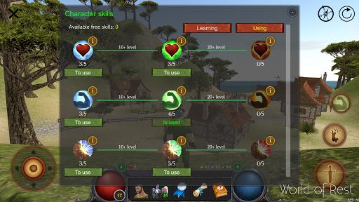World Of Rest: Online RPG 1.35.0 screenshots 6