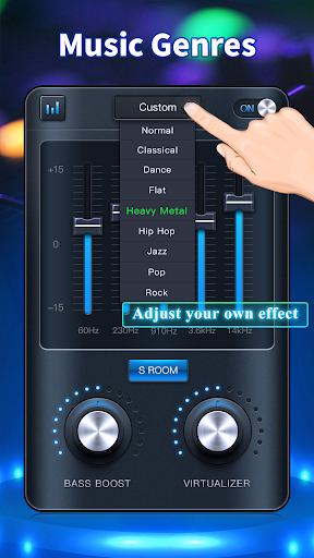 Equalizer: Bass Booster & Volume Booster 1.3.9 Screenshots 3