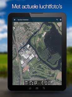 Topographical app, GPS Tracker - the Netherlands