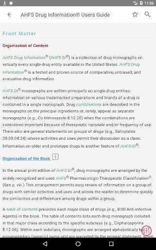 AHFS Drug Information (2021) 3.5.14 Screenshots 15